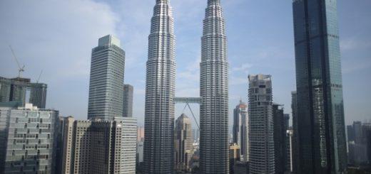 マレーシア-クアラルンプール-ペトロナスツインタワー