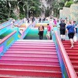 バトゥ洞窟-階段