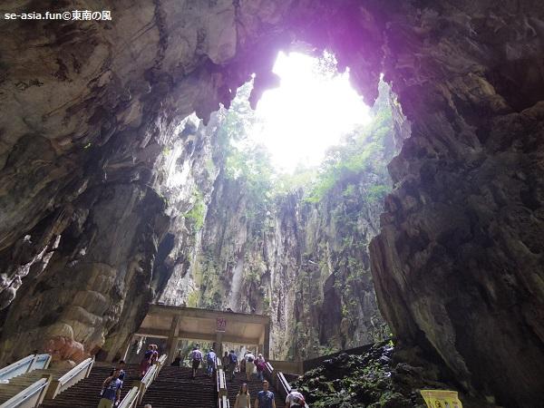 バトゥ洞窟-洞窟内