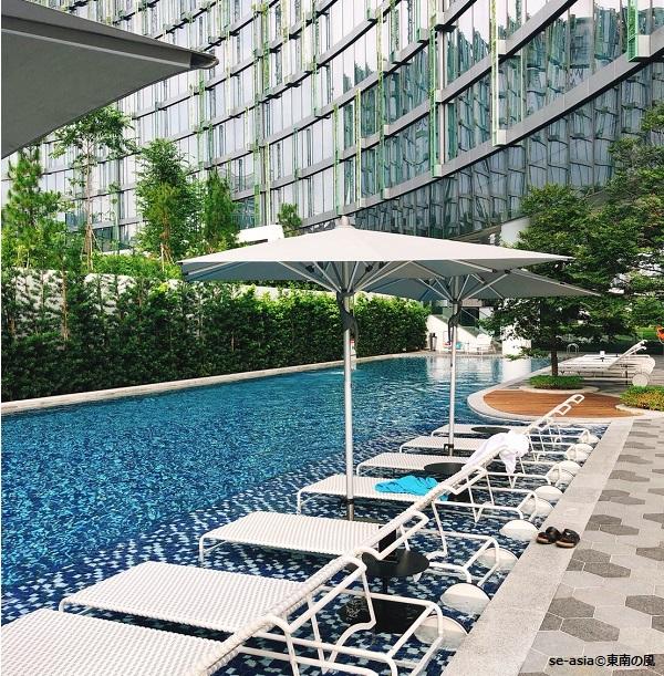 シンガポール-メルキュールシンガポールオンスティーブンス-プール